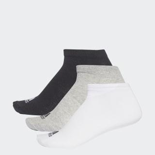 Три пары носков Performance No-Show black / medium grey heather / white AA2313
