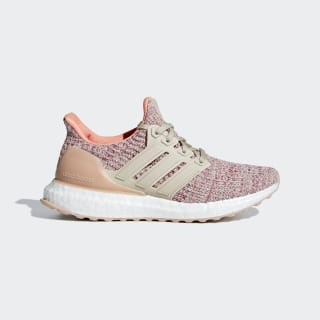 UltraBOOST J trace maroon / clear brown / chalk coral s18 B43513