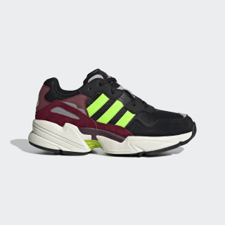 Yung-96 Shoes Core Black / Solar Green / Collegiate Burgundy EE6694