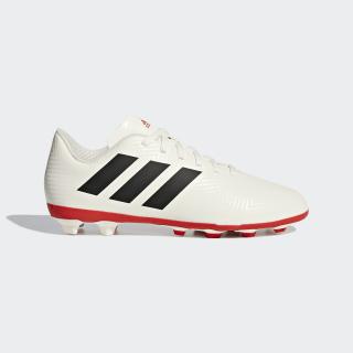 Calzado de Fútbol NEMEZIZ 18.4 FxG J off white/core black/active red CM8510