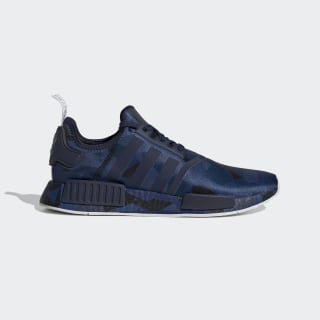 NMD_R1 Shoes Collegiate Navy / Collegiate Navy / Cloud White EF4264