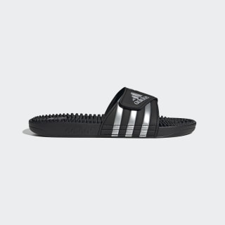 Adissage Slides Core Black / Silver Metallic / Core Black F35577
