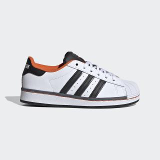 Superstar Schuh Cloud White / Core Black / Orange FV3688
