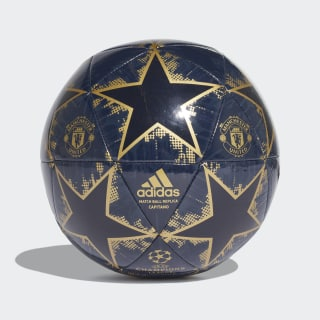 Pelota Capitano Finale 18 Manchester United COLLEGIATE NAVY/MATTE GOLD/NIGHT NAVY CW4139