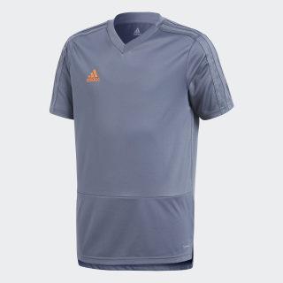 Maglia da allenamento Condivo 18 Grey / Orange CG0378