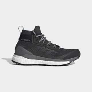 Zapatilla Terrex Free Hiker Hiking Carbon / Carbon / Ash Grey G28417