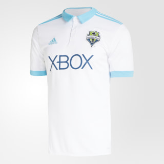 Seattle Sounders FC Away Jersey White / Bright Cyan BP9518