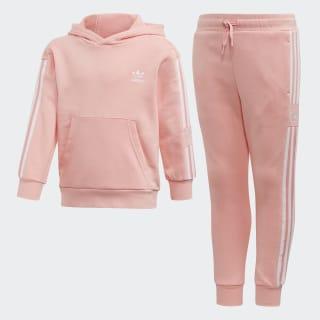 Conjunto sudadera con capucha y pantalón Glory Pink / White FM5633