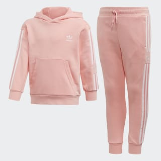 Hoodie Set Glory Pink / White FM5633