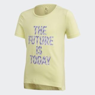 Футболка для фитнеса The Future Today Yellow Tint / White FM5860