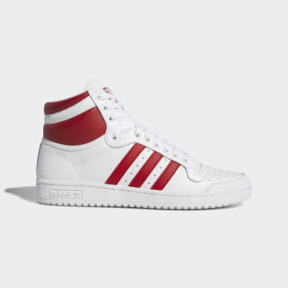 Top Ten Hi Shoes Cloud White / Power Red / Cloud White EF2359