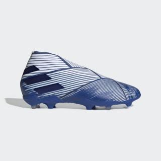Nemeziz 19+ Firm Ground Voetbalschoenen Cloud White / Team Royal Blue / Team Royal Blue EG7242