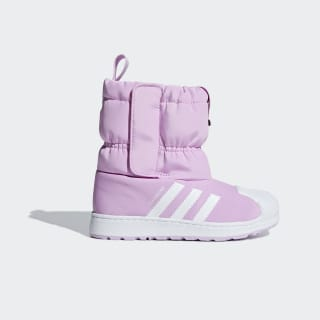 Зимние ботинки Superstar clear lilac / ftwr white / ftwr white B37296