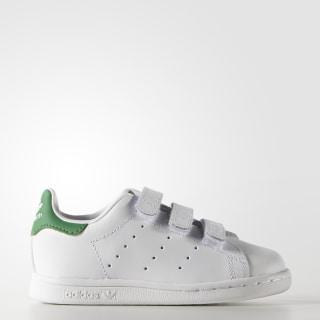 Tenis Stan Smith Con Velcro Bebés WHITE/GREEN M20609