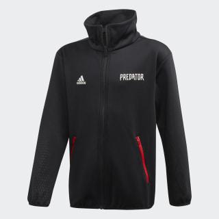 Predator Track Jacket. Black / Vivid Red FL2755