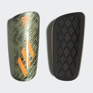 X Pro Shin Guards Legacy Green / Tent Green / Solar Orange FK0484