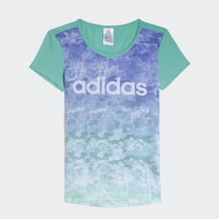 Remera Graphic Print HI-RES GREEN S18/WHITE CW2035