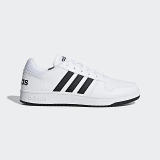 Hoops 2.0 Shoes Cloud White / Core Black / Cloud White F34841