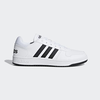 Hoops 2.0 Schuh Ftwr White / Core Black / Ftwr White F34841