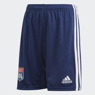 Calções Alternativos do Olympique Lyonnais Dark Blue EK0878