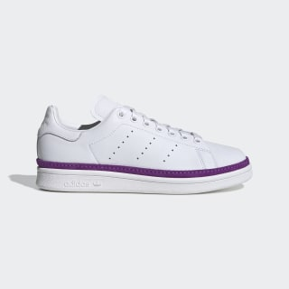 Stan Smith New Bold Shoes Cloud White / Cloud White / Active Purple BD8074
