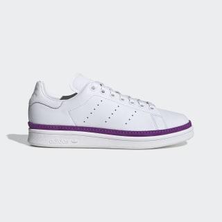 Zapatillas Stan Smith New Bold Cloud White / Cloud White / Active Purple BD8074
