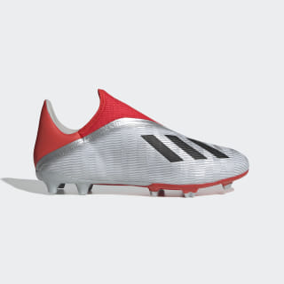 Zapatos de Fútbol X 19.3 Terreno Firme silver met. / core black / hi-res red s18 EF0597