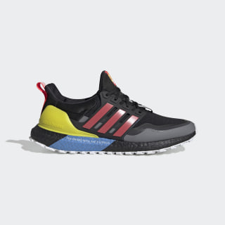 Ultraboost All Terrain Shoes Core Black / Shock Red / Shock Yellow EG8097