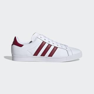 Scarpe Coast Star Cloud White / Collegiate Burgundy / Cloud White EE6197