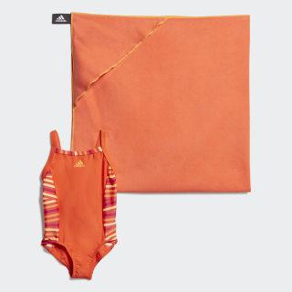Maillot de bain Active Orange / Solar Gold EH6289