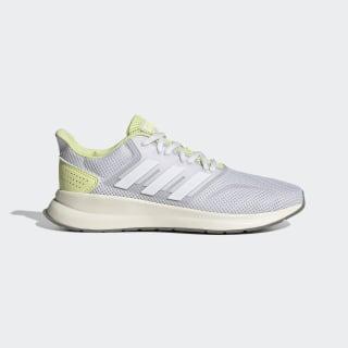 Tênis Runfalcon Dash Grey / Cloud White / Yellow Tint EG8622