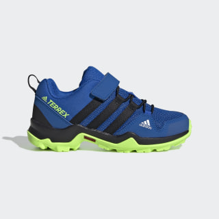 Terrex AX2R CF Hiking Shoes Glory Blue / Core Black / Signal Green EF2233