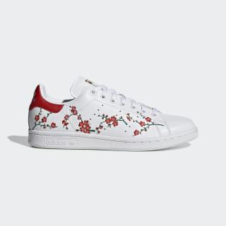Stan Smith Shoes Cloud White / Scarlet / Core Black EG2863