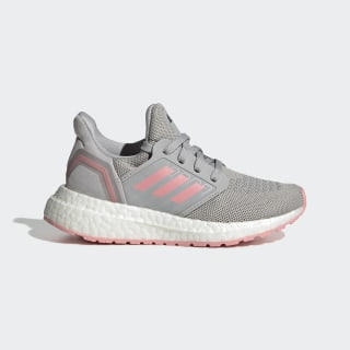 Ultraboost 20 Shoes Grey Two / Glory Pink / Grey FV5410