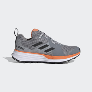 Scarpe da trail running Terrex Two Grey Three / Core Black / Amber Tint EH1845