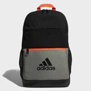 กระเป๋าสะพายหลังทรงคลาสสิก Black / Legacy Green FM6912