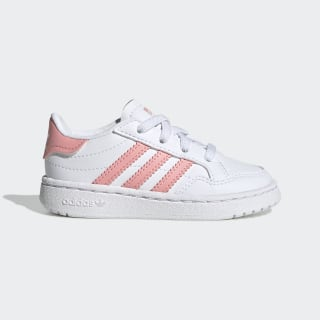 Team Court Shoes Cloud White / Glory Pink / Core Black EF6829