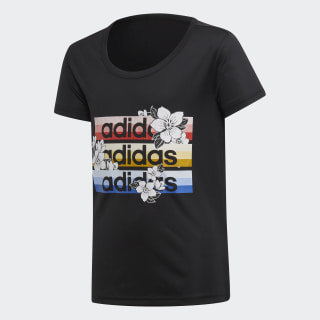 Remera YG C T x Farm black/active red/active gold FI2739