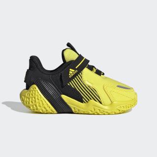 Scarpe 4UTURE Runner Shock Yellow / Shock Yellow / Core Black EG8339