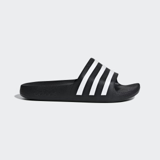 Adilette Aqua Slides Core Black / Cloud White / Core Black F35556