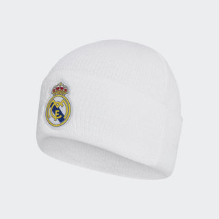 Real Madrid Beanie White / Dark Football Gold DY7725