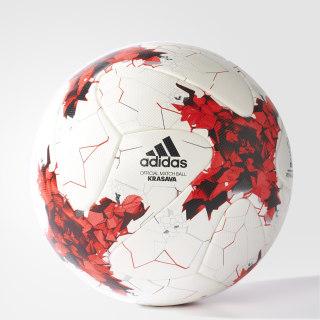 Balón de Fútbol Copa FIFA Confederaciones Oficial WHITE/RED/POWER RED/CLEAR GREY S12 /BLACK AZ3183