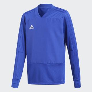 Camiseta manga larga entrenamiento Condivo 18 Player Focus Bold Blue/White CG0390