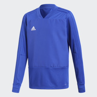 Condivo 18 Player Focus Training Top Bold Blue / White CG0390