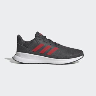 Runfalcon Shoes Grey Six / Scarlet / Cloud White EG8602