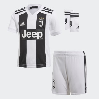 Miniconjunto primera equipación Juventus White/Black CF3495
