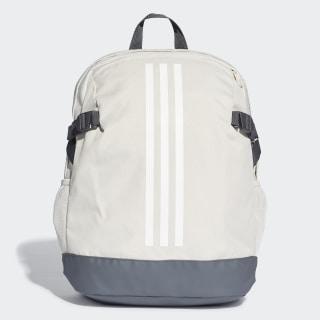 กระเป๋าสะพายหลัง 3-Stripes Power ขนาดกลาง Raw White / White / White DU2009
