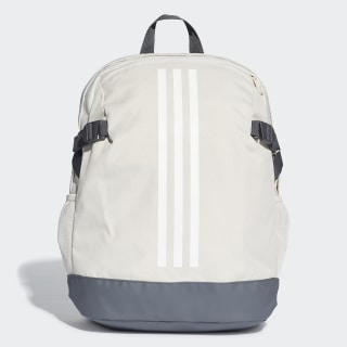 Mochila 3-Stripes Power Medium Raw White / White / White DU2009