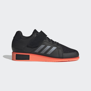 Power Perfect 3 Shoes Core Black / Night Metallic / Signal Coral EF2985