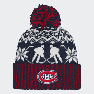 Bonnet Canadiens Ugly Sweater Cuffed Pom Nhlmca CY4136